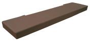 KidKusion Soft Seat Hearth Pad, Brown, Long