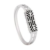 Memela(TM) Luxury Stainless Steel Accessory Bangle Watch Band Wrist strap For Fitbit Flex 2