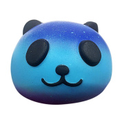 SMALLE Kawaii Squishy Slow Rising Starry Panda Baby Toy,Fun Reliever Stress Toy 10cm