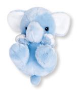 Sanei Squeaky Elephant Stuffed Plush, 14cm