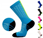 FASTBON Long Compression Socks for Men's Women's Running, Better Blood Circulation