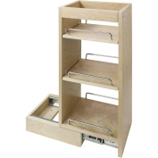 Hardware Resources WPO5 Wall Cabinet Pullout, Hard Maple
