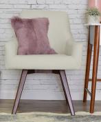 ELLE Décor Paige Home Office Chair - Ivory