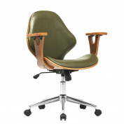 Porthos Home Lillian Adjustable Office Chair, Green