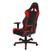 DXRacer Racing Series OH/RW106 Racing Style Bucket Seat Ergonomic Executive Office Gaming Chair Computer eSports Desk Chair With Lumbar Support Pillows