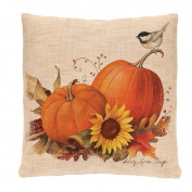 Sikye Couch Cushios Home Decor Pillow Shams Cotton Linen Square Throw Pillow Covers Halloween Scream Night