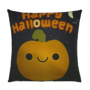 Pillow cases,Han Shi Happy Halloween Pillow cases,Han Shi Happy Halloween Linen Sofa Pumpkin ghosts Cushion Cover Home Decor Square Pillowslipsver Pillowslips