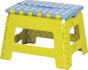 AZUMAYA Folding Step Stool Yellow Size Small BLC-311YE