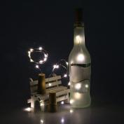 LED Light ,Lavany® 1PCS Solar Wine Bottle Cork Shaped String Light 10 LED Night Fairy Light Lamp For Xmas Wedding Party Garden Decor