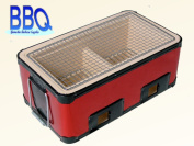 We surround it together, and let's enjoy charcoal fire firing! Barbecue cooker corner type ST-06