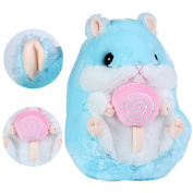 Cuddly Hamster Stuffed Animal Doll 25cm ,Kosbon Soft Mouse Toy Children's Pillows Cushion Plush Doll For Xmas Christmas Wedding Presents Gift,Graduation Valentine's Day Birthday