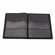 CoCocina Soft Leather Banknote Paper Money Collection 60 Sheet Stamp Book Album -Translucent