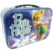 """WL SS-WL-18561 Tinker Bell """"Pixie Perfect"""" Design Collectible Tin Tote, 25cm"""