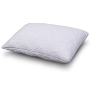 Cr Sleep Shredded Memory Foam Pillow, Height Adjustable, Standard 60cm x 41cm
