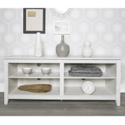 New 150cm Wide White Wash Finished Television Stand