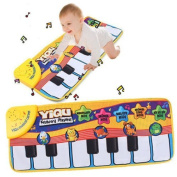 KINGZHUO Piano Music Keyboard Mat Electronic Blanket Touch Play Learn Singing Gift Carpet Kids Toy for Baby