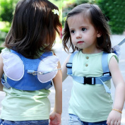 Angel Wings Walking Safety Harness , Baby Anti-lost Backpack , Mini Travel Safety Strap, Walking Harness, Reins Toddler Child Strap by Sportsvoutdoors