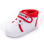 Baby Shoes Auxma Newborn Baby Infant Kid Boys Girls Soft Sole Canvas Sneaker Toddler Shoes for 3-6 6-12 12-18 month