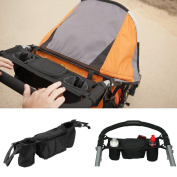 Baby Stroller Bags,Woopower Kids Stroller Organiser Cooler and Thermal Bags for Mummy Hanging Carriage Pram Buggy Cart Bottle Bags for Bebe Nappy Bags