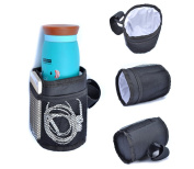 Multifunctional Waterproof Thermal Insulated Bottle Holder Pocket Organiser for Baby Strollers, Shopping Carts, Wheelchairs, Bikes By Pawaca