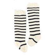 CYCTECH® Baby Girl Comfortable Stripe Socks Knee High Bows Warm Stockings