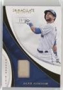 Alex Gordon #29/99 (Baseball Card) 2017 Panini Immaculate Collection - Immaculate Swatches #S-AG