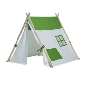 Play Triangle Tent White - BuitenSpeel
