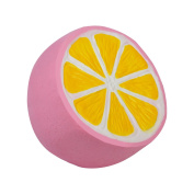 Autrix Jumbo Slow Rising Squishies Scented Lemon Squishy Stress Relief Toy Charms For Kids and Adults