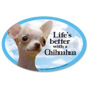 Prismatix Chihuahua Magnet, Tan
