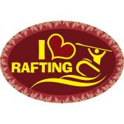Prismatix I Love Rafting Magnet