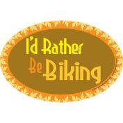 Prismatix Rather Be Biking Magnet