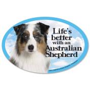 Prismatix Australian Shepherd Magnet