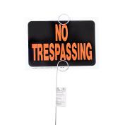 Hy-Ko 9 x 12 Plastic No Trespassing Property Sign Value Pack
