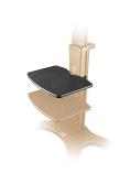AVF-TP-BLK Equipment Tray AVF-TP (Extra Shelf) for BLACK TV Cart TV Stand AVF1500-50-1P and AVF1500-60-1p.