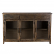 Yosemite Home Decor YFUR-SWC010114 Sophisticated Cabinet, Charcoal Green