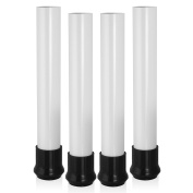 Rocket Risers Table Risers - Make Your Folding Table a Counter Height Table - Set of 4 Table Leg Risers
