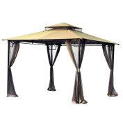 Replacement Canopy for the Bamboo Look Gazebo - RIPLOCK 350