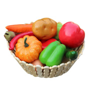 Voberry 12 Pcs High Imitation Vegetable Packages Photographic Props