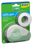 Curad Cloth Tape with Dispensor, White