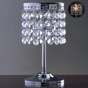 Efavormart Elegant Metal Votive Tealight Crystal Candle Holder Wedding Centrepiece - 19cm