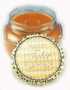 Tyler Glass Jar Candle - 650ml Long Burning Scented Candle – Pumpkin Spice Fragrance
