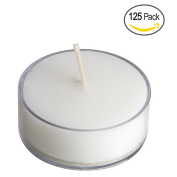 Clear Acrylic Tea-light Candles for Wedding, Holiday & Home Decoration by Royal Imports, 5 Hours Burn Time