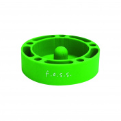 F.e.s.s. Fess Silicone Premium AshTray w/ Glass Friendly Tapping Centre Unbreakable Shatter