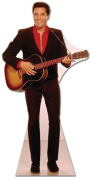 Elvis Presley Cardboard Cutout Standup Red Shirt with Guitar SC241