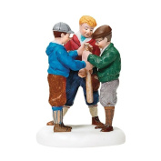 """Department 56 Christmas in the City """"Choosing Rights"""" Accessory Figurine"""
