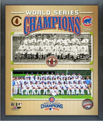 Chicago Cubs 1908 & 2016 World Series Champions Team Photo (Size