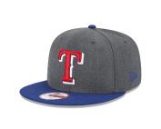 New Era MLB Heather Graphite 9FIFTY Snapback Cap