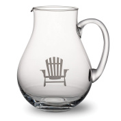 Abbott Collection Dock Glass Pitcher