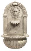 Koehler 32428 80cm Indoor/Outdoor Lion Head Wall Fountain