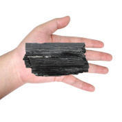 1 (ONE) Large Black Tourmaline Rod - Powerful Energy - Over 0.2kg From Brazil - AM21-01
